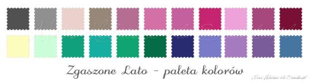 Analiza kolorystyczna: Zgaszone Lato - Soft Summer - SNOBKA