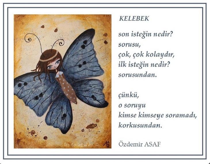 kelebek - özdemir asaf