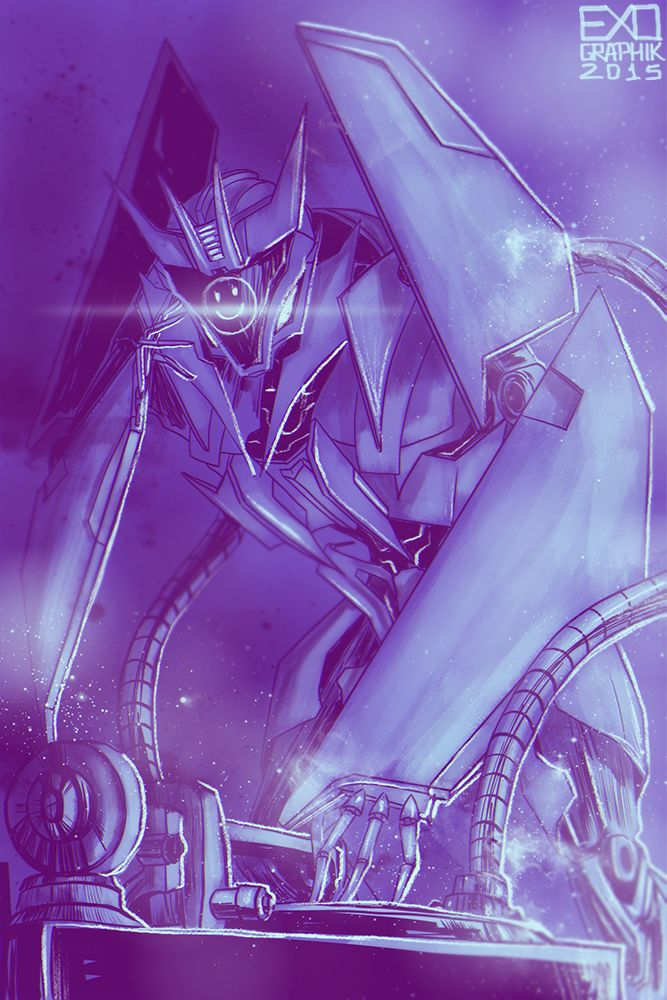 DJ Soundwave by hyena-smile.deviantart.com on @DeviantArt