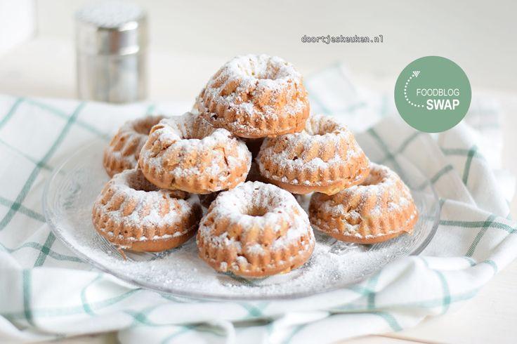 Het is weer tijd voor een foodblogswap: deze heerlijke appel-kaneel muffins met Griekse yoghurt staan in de spotlights. Ontzettend fris en romig!