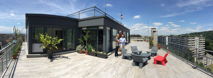 Friend's rooftop in Turin!