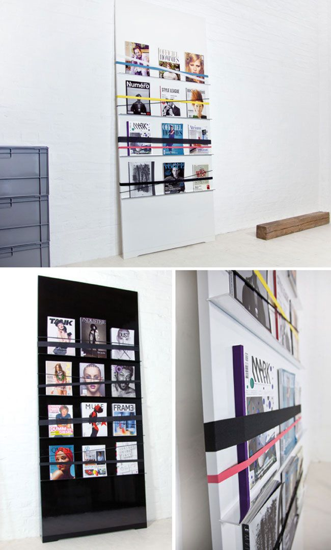 Retail Graphics: Supergrau Expose, a front-facing presentation space #display