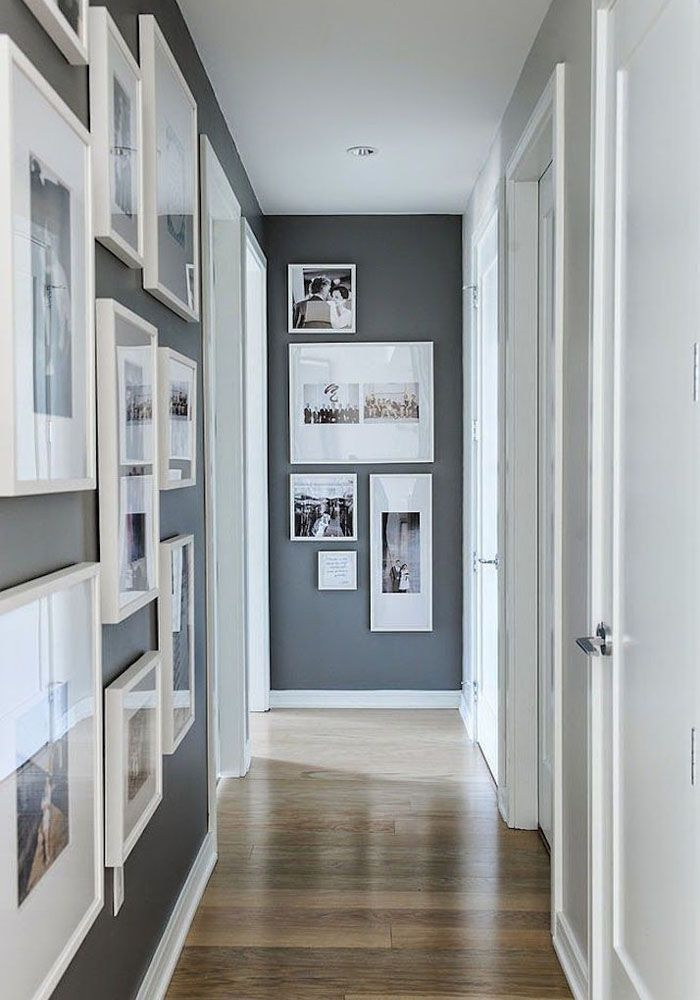 gallery incredible cork board.  cork white framed gallery wall on dior gray walls in hallway in gallery incredible cork board r