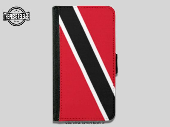 Trinidad and Tobago Red White and Black Flag by ThePressRelease