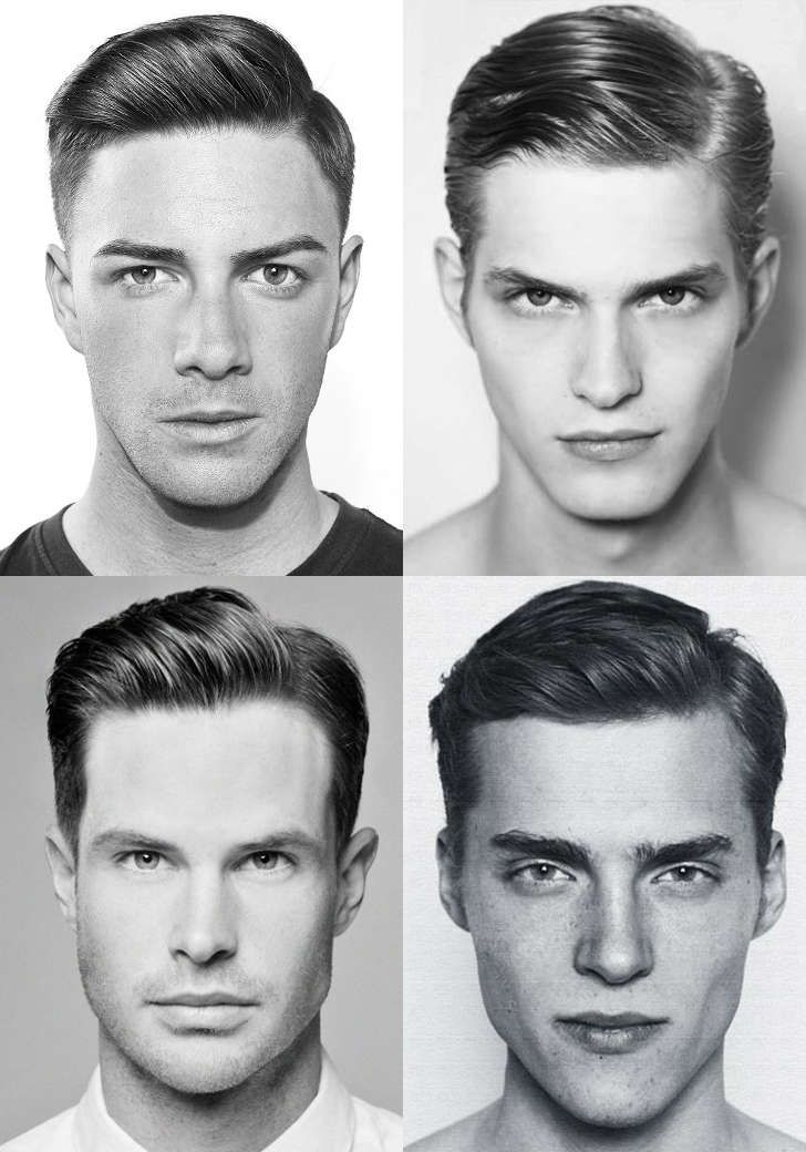 Astonishing 1000 Ideas About Side Part Men On Pinterest Haircuts Curly Short Hairstyles For Black Women Fulllsitofus