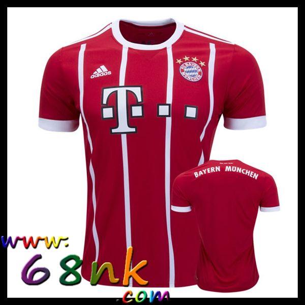 Nouveaux Maillots du FC Bayern Munich 2017/2018 Homme Domicile