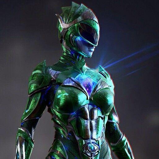 Rita Repulsa Green Ranger. Power Rangers Movie 2017