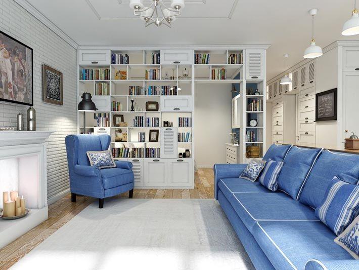 Прованс в интерьере городской квартиры (дизайнер Алена Литвиненко)