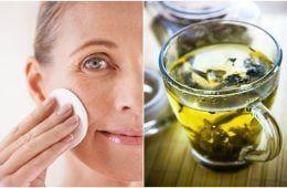 Homemade Green Tea & Aloe Skin Toner To Tighten Pores, Remove Excess Oil & More
