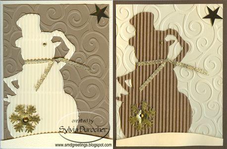corrugated card reindeer - Google Search