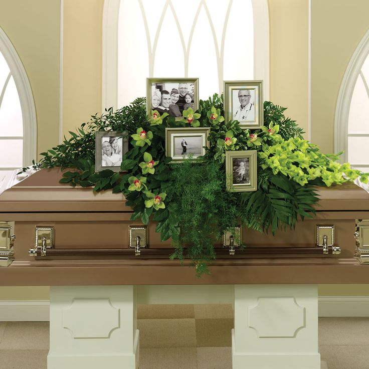 images of casket sprays | photo casket spray, making it personal