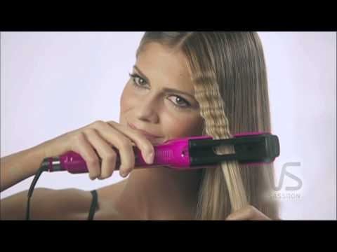 Learn how to use the VS Sassoon Goddess Waves here.