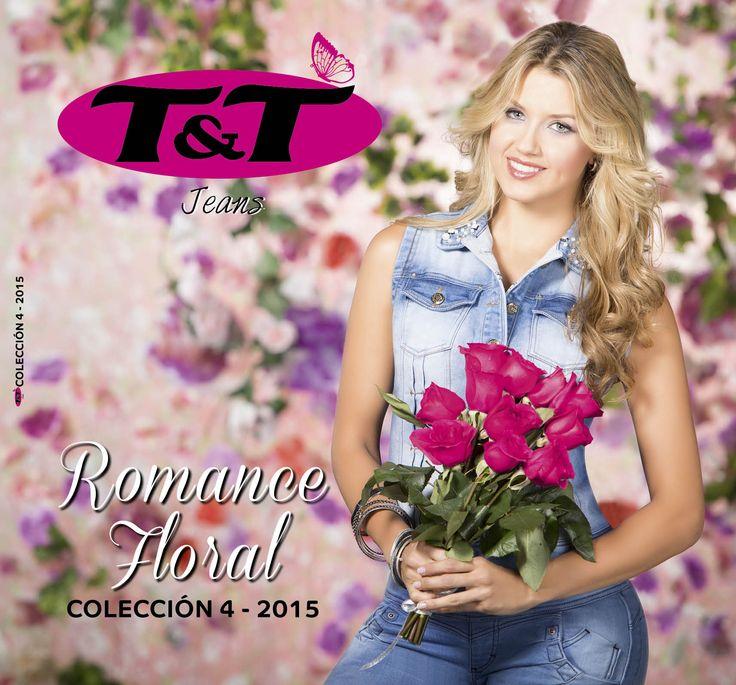 Catalogo - 4ª colección 2015  ROMANCE FLORAL http://jeanstyt.com/