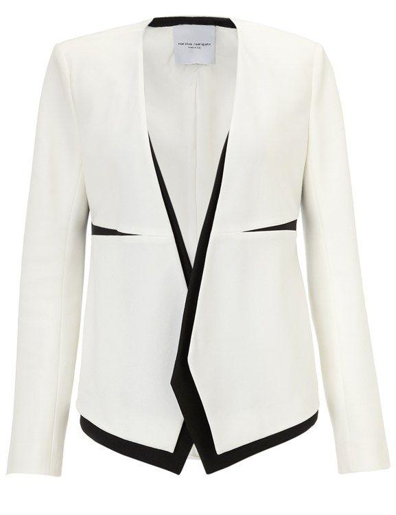 Narciso Rodriguez Monochrome Tuxedo Jacket