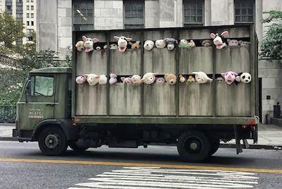 Chasse au trésor dans l'ancien quartier des abattoirs de New-York.