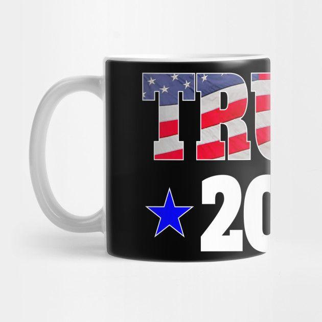 Best Comforters 2020 USA Trump 2020 Blue Stars   Trump 2020 Flag American   Mug