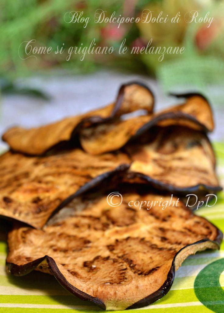 Come si grigliano le melanzane