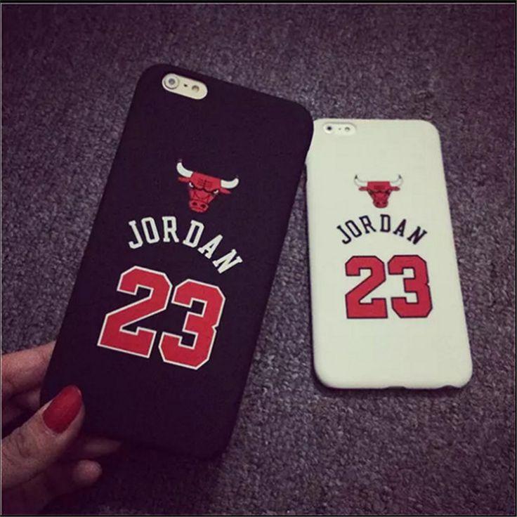 "Fashion Chicago Bulls No.23 Jordan Basketball PC Cover Case For Apple iPhone 5 5s 6 4.7"" 6 plus 5.5"" Jumpman Sports Phone Cases Digital Guru Shop"