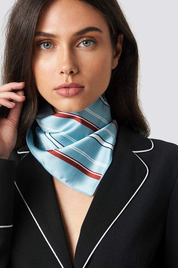 Damen Square Schal Bandana Kopftuch Halstuch Nickituch Seide Satin Wickeln Mode