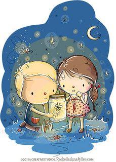 Fireflies by Rachelle Anne Miller, via Flickr