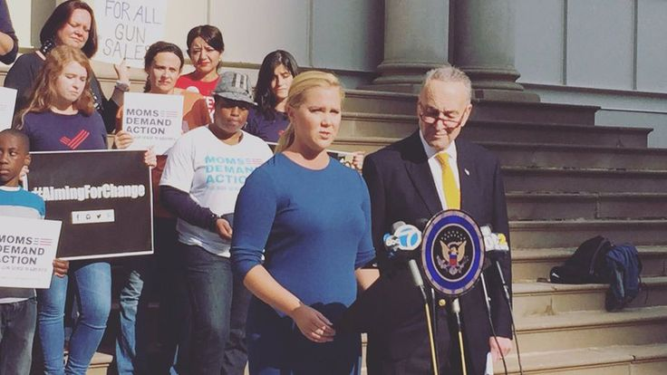 Amy Schumer and her cousin, Sen. Chuck Schumer (D-NY) again teamed up on Sunday to call for Congress to pass gun legislation. Schumer and Schumer appeared on the steps of New York City Hall to call...
