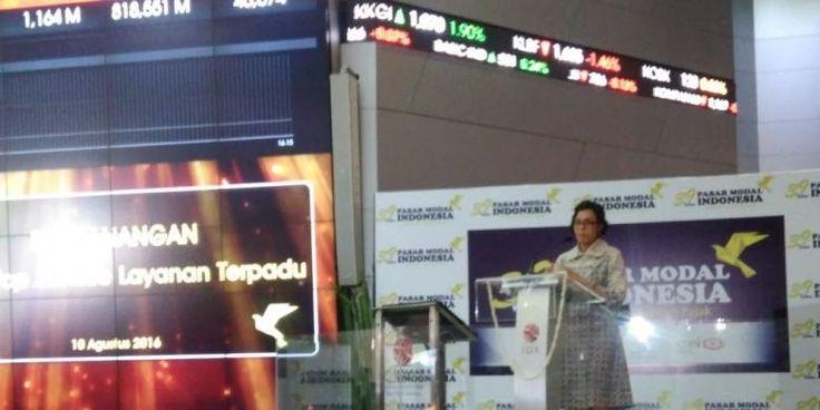 Rifan Financindo: Menkeu Sri Mulyani Senang Banyak Pihak Bantu Pengampunan Pajak