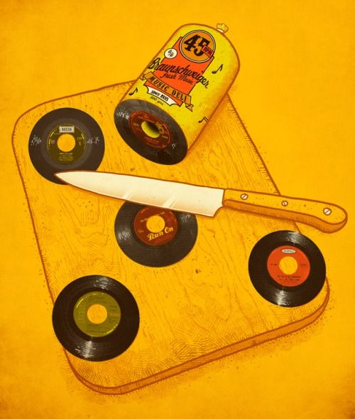 45 RPM Deli by alvarejo