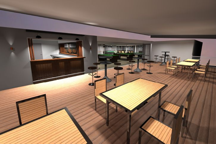 A great bar fitout designed by Focus Architecture, Brisbane.