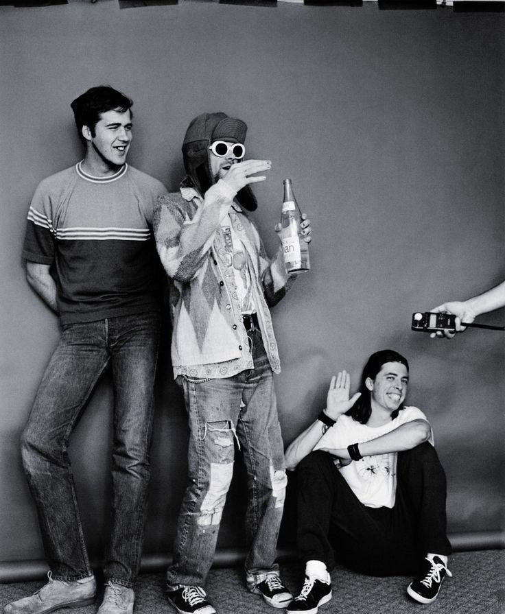 Krist Kurt and Dave Nirvana
