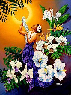 hawaiian art representation