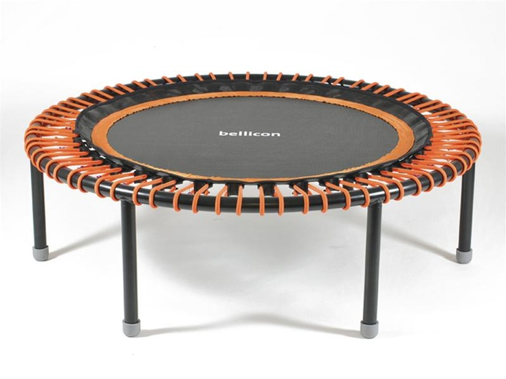 The Porsche of rebounders - the Bellicon Swing. Want!