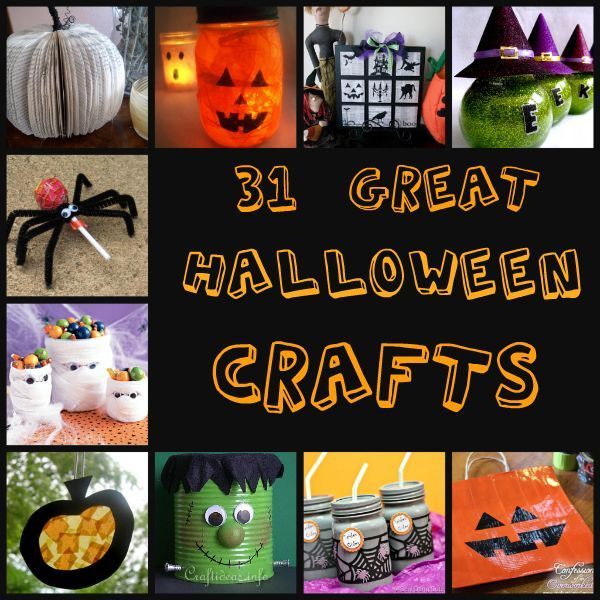 104 best Halloween Kids Crafts images on Pinterest Halloween prop - halloween decorations to make at home for kids