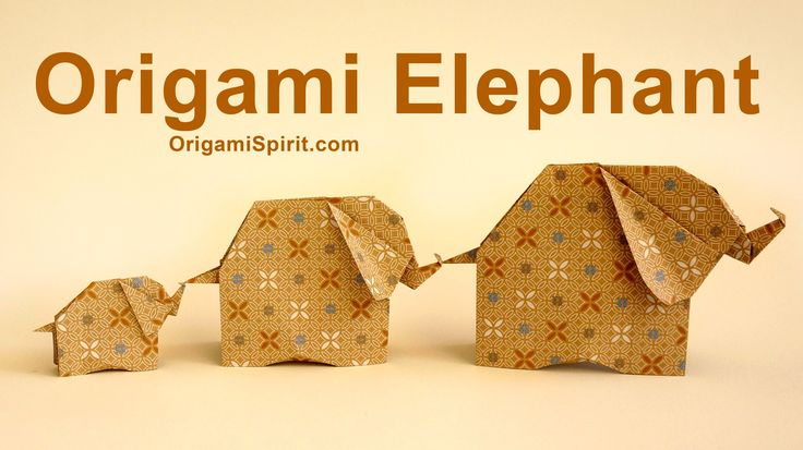 how to make an origami elephant wikihow