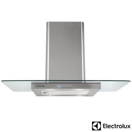 Imagem para Coifa de Parede 90cm Electrolux com 3 Velocidades Piramidal - 90CV a partir de Fast Shop
