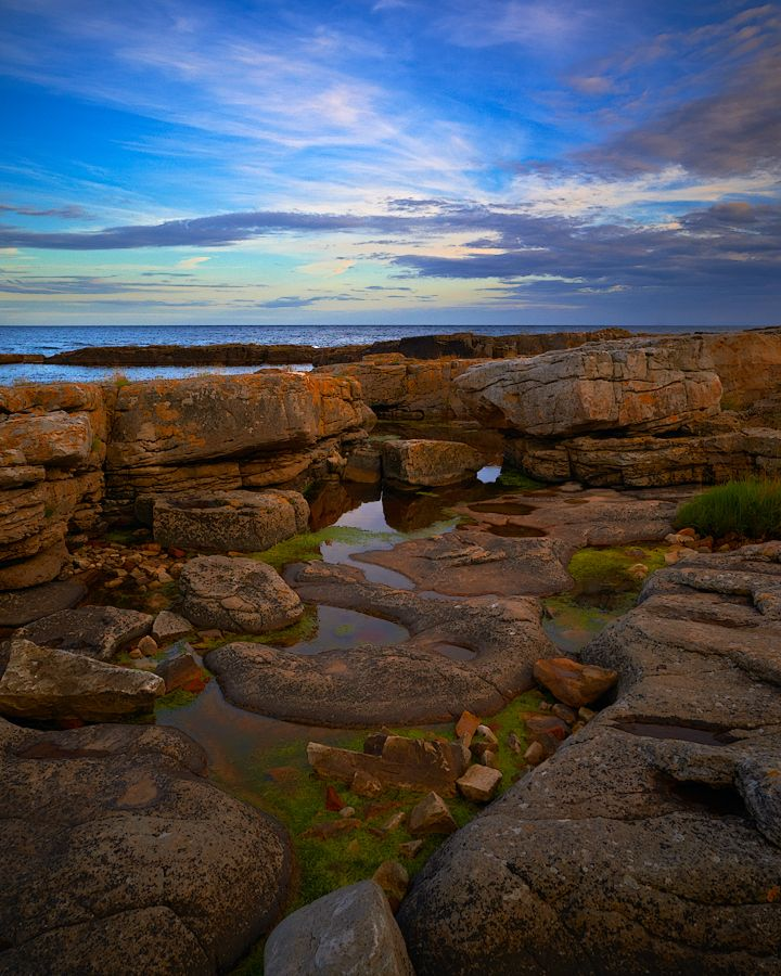 Brantevik coast, Skåne, Sweden. •´¯`•.¸¸.♡ #landscape