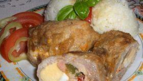Fotorecept: Plnené závitky z bravčového mäsa