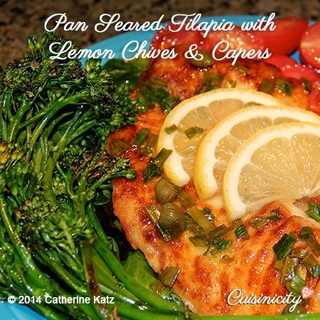25+ best ideas about Pan seared tilapia on Pinterest ...