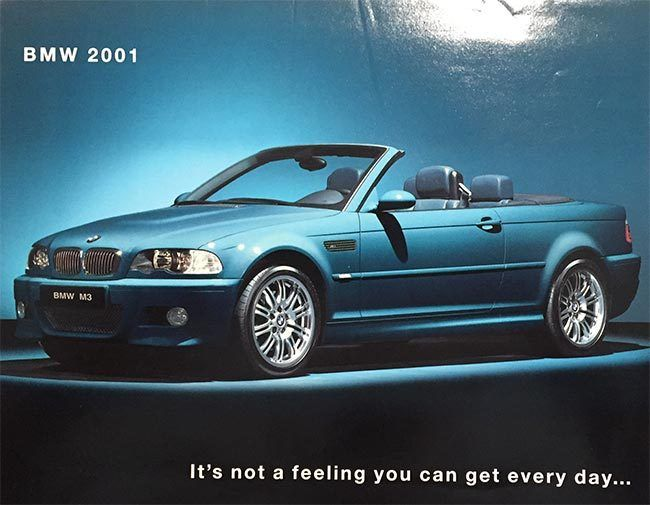 2001 BMW Dealer Color Brochure