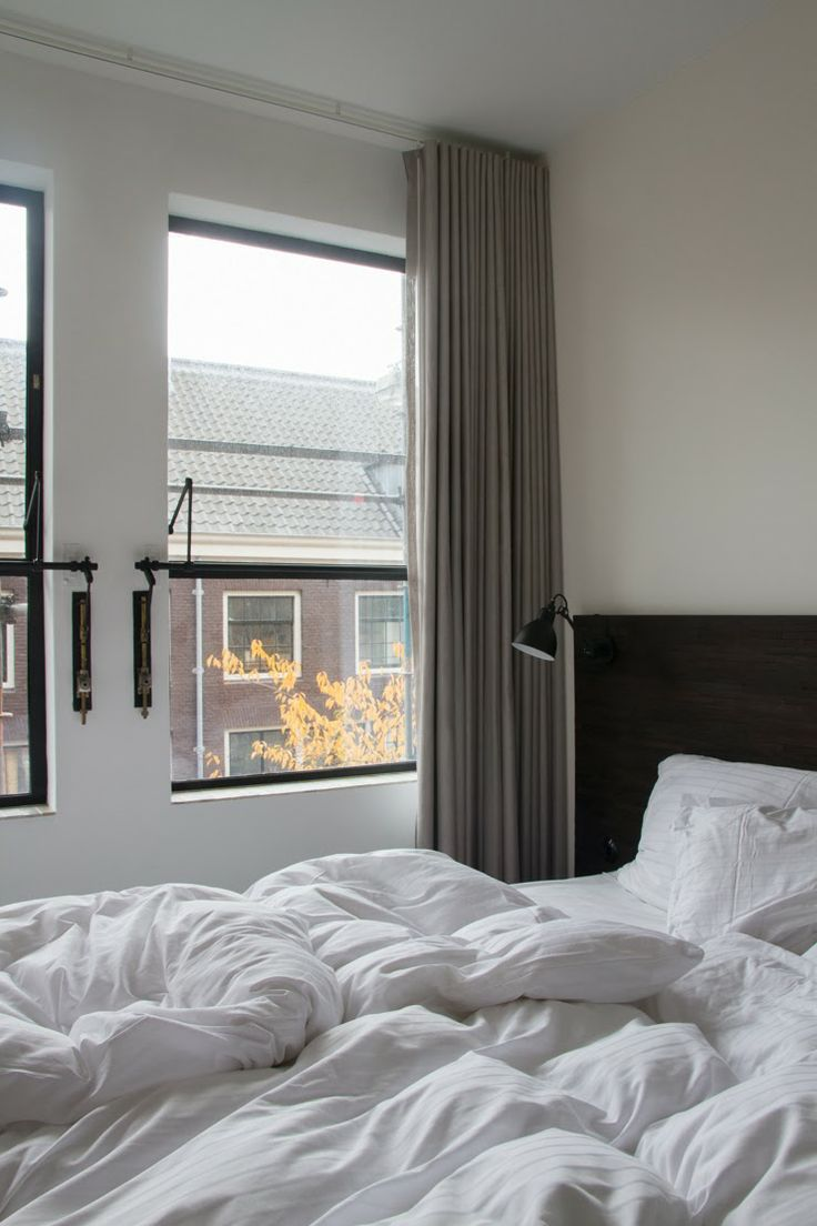 The bedroom at Stout & Co, shot by Stephanie Duval.