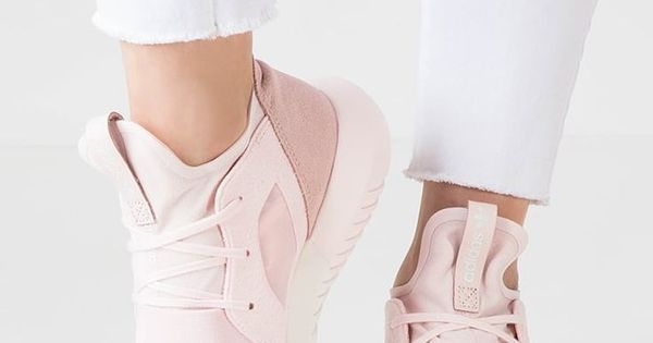 TUBULAR DEFIANT - Sneaker low - halo pink/chalk white