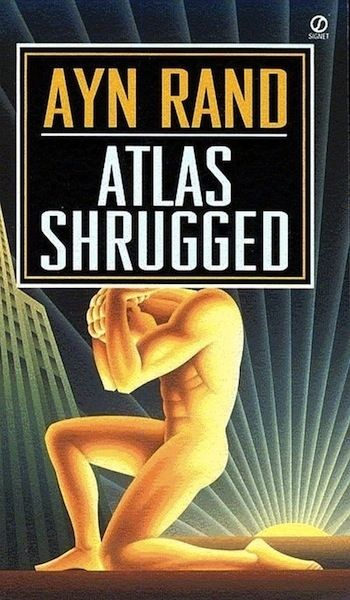 Atlas Shrugged by Ayn Rand - How many philosophers set forth their ideas in novel form? In her seminal work, Atlas Shrugged, Rand laid the foundation for her individualist philosophy commonly referred to as objectivism. Upon its release at the height of the cold war, Rand's anti communist perspective that praised the efforts of the individual in mass society set well with most Americans. A 1000 page book, Atlas Shrugged is anything but tedious. Who is John Galt?