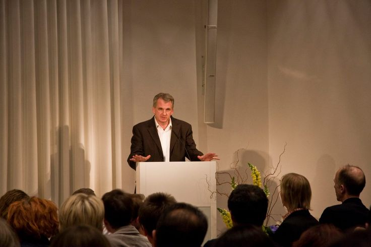 """Yale historian Timothy Snyder delivers the keynote speech during the Conference 2014: """"What Europe? Ideals to Fight for Today"""""""