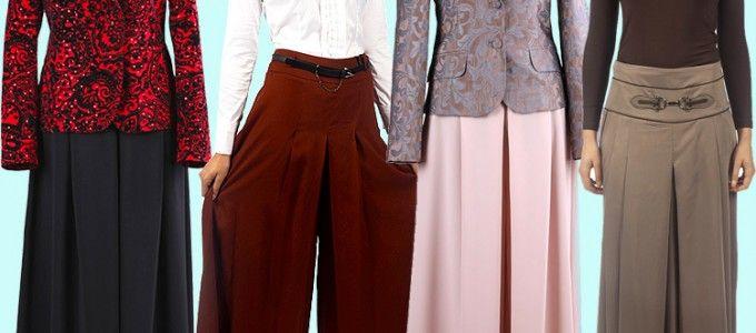 Tesettür Pantolon Modelleri