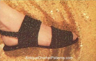 Crochet Pattern for Slippers  Free Slipper Crochet Pattern