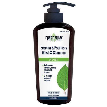 Natralia Eczema & Psoriasis Wash & Shampoo - 7 fl oz