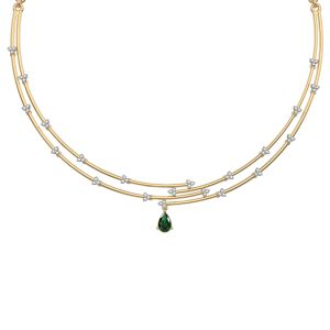 Green Rampant Necklace