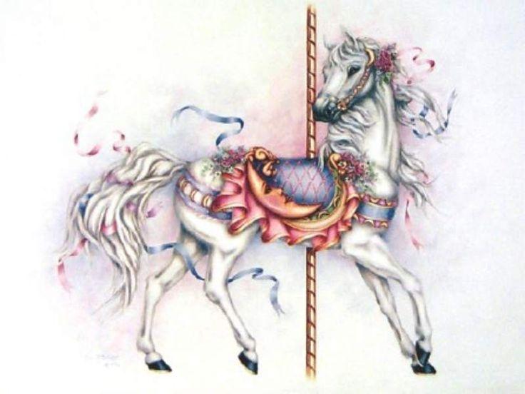 Carousel Horse Drawings | Free Carousel Horse Wallpaper Download The Free Carousel Horse Wallp