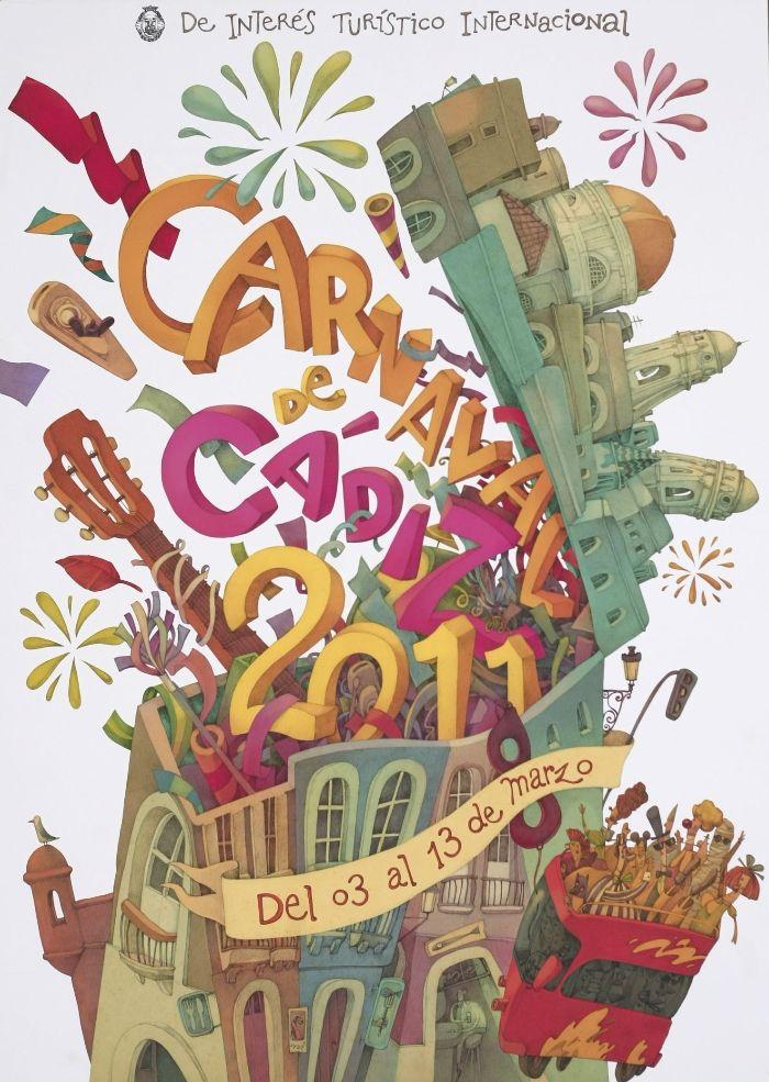 Carnaval de Cádiz - cartel 2011