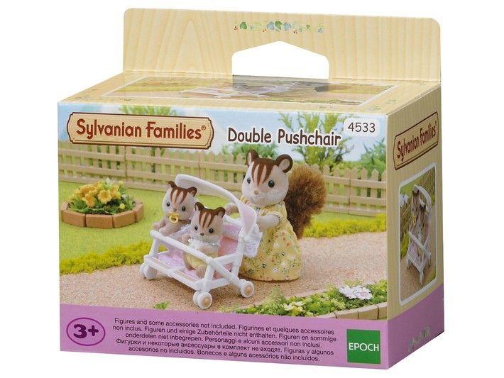 Sylvanian Families - Double Pushchair