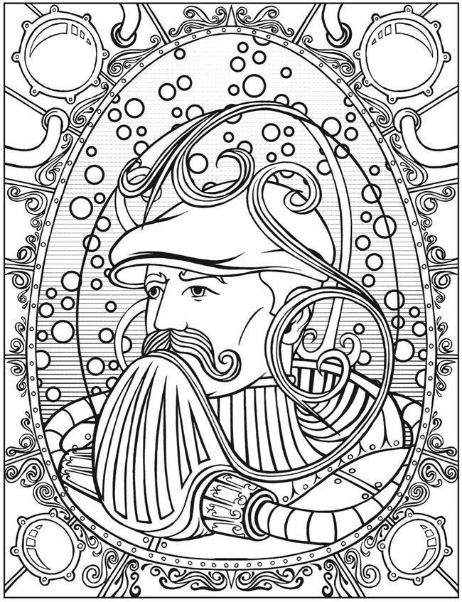 image result for adult colouring books free nautical